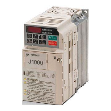 Omron frequentieregelaar t/m 1 kv J1000 1 Fase 230V, 128x68x70mm