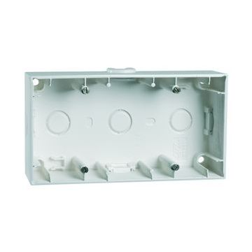 PEHA NOVA bedieningselement/centraalplaat kunststof, wit, uitvoering drukknop