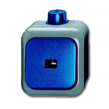 Busch-Jaeger Busch-duro 2000 WDI wip-impulsdrukker 1-polig maakcontact (NO), blauw