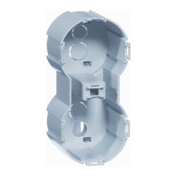 PEHA COMPACTA doos voor montage in wand/plafond kunststof, grijs