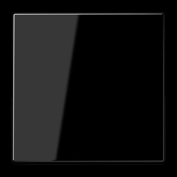 JUNG LS990 bedieningselement/centraalplaat kunststof, zwart, uitvoering 1 wip