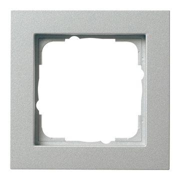 Gira afdekraam E2 kunststof, aluminium, 1 eenheid
