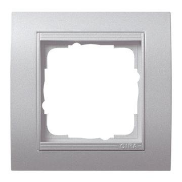 Gira Event enkelvoudig kunststof afdekraam, aluminium