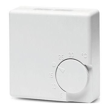 Eberle RTR-E 3521 kamerthermostaat aan/uit 230V met draaiknop, wit
