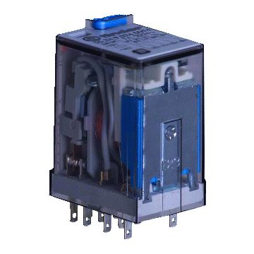 finder schakelaarrelais 55, 20.7x37.2x27.7mm find MINIrelais 4 WISS 7A/250V model 2090