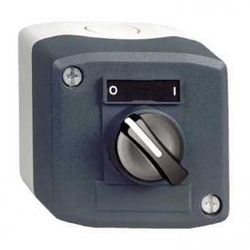 Schneider Electric Harmony XALD drukknopkast compleet, 1 commandoposities, 1 keuzeschakelaar frontelement