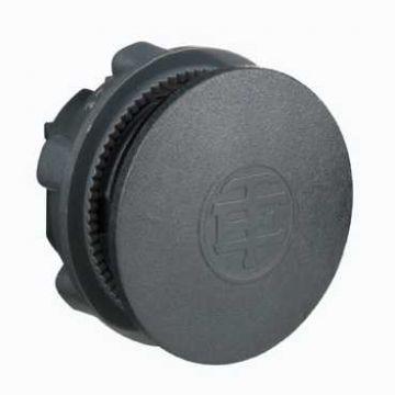 Schneider Electric Harmony XB5 blindstop, kunststof, rond, zwart