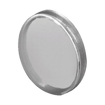 EAO lens drukknop/signaallamp 04, inbouw diam 29mm, lens helder, lens rond