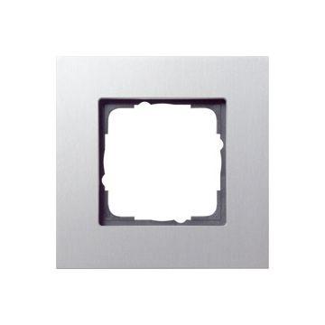 Gira Esprit enkelvoudig kunststof afdekraam, aluminium