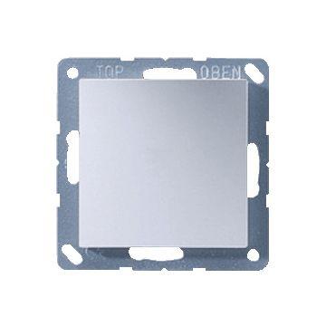 JUNG A500 bedieningselement/centraalplaat kunststof, aluminium, uitvoering bl pl