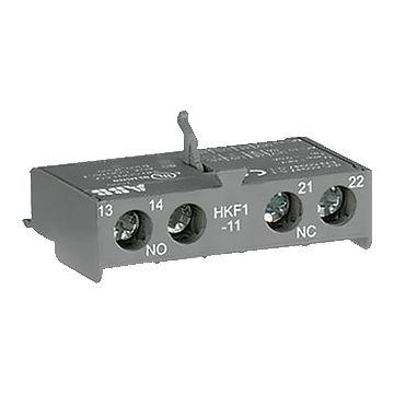 Busch-Jaeger MS hulpcontactblok, 1 maakcontact, 1 verbreekcontact, nom. bedrijfsstroom