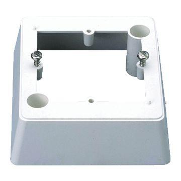 Ajax opbouwrand nevenindicator K2L, kunststof, wit