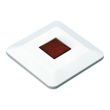 Ajax nevensignalering K2L, rood, sign optisch, opb, (hxbxd) 80x80x20mm