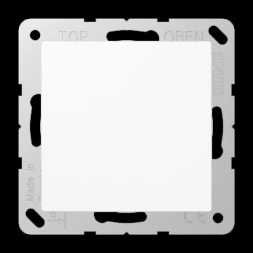 JUNG AS500 bedieningselement/centraalplaat kunststof, wit, uitvoering bl pl
