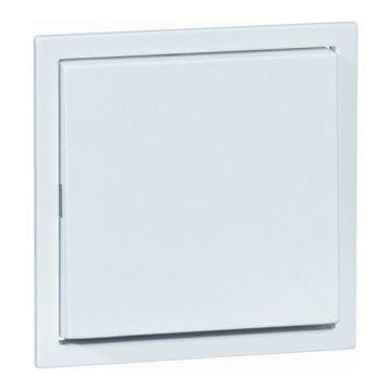 PEHA AURA bedieningselement/centraalplaat kunststof, wit, uitvoering 1 wip