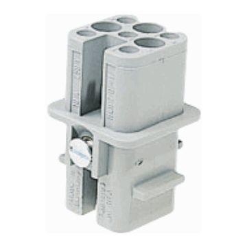 Harting contactblok industriële connector HAN D