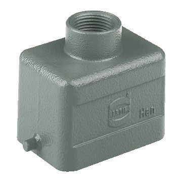 Harting behuizing industriële connector HAN E, 43x53.5x73mm, rechthoek