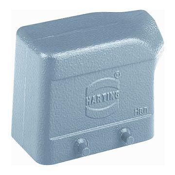 Harting behuizing industriële connector HAN E, 43x57x72.6mm, rechthoek