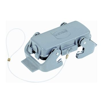 Harting beschermkap industriële connector HAN E, rechth, met vergr