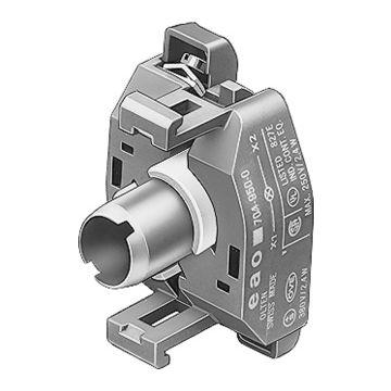 EAO signaallamphouder 04, lamph BA9s, nom. Ue bij AC 50 Hz 6-230V