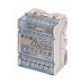 Eaton distributie-klemmenblok Medusa, 16mm², 4 polen, max. str st 100A