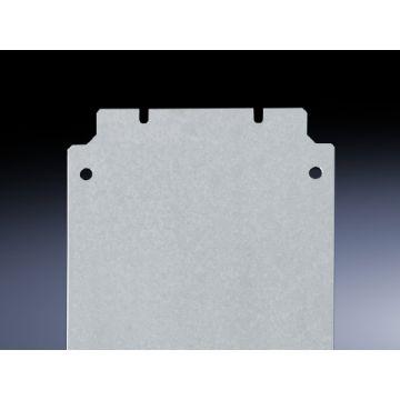 Rittal mont pl voor kast/lessenaar KL, staal, (hxb) 400x600mm, verz