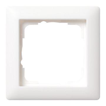 Gira Standaard 55 enkelvoudig kunststof afdekraam, wit