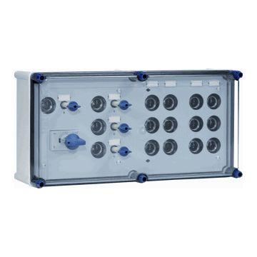 Eaton installatiekast hal GLKS, 270x540x171mm, 3 fasen, bev smeltp