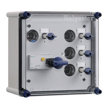 Eaton installatiekast hal GLF, 270x270x171mm, 3 fasen, bev smeltp
