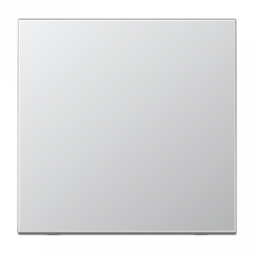 JUNG bedieningselement/centraalplaat, aluminium/, edelstaal/chroom, metaal, aluminium