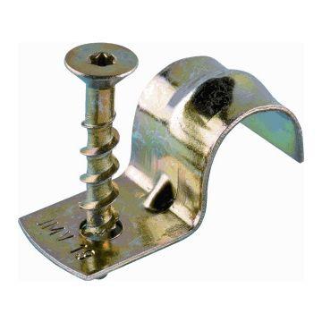 JMV zadel halve beugel FBB, staal, diam 16mm, nom. diam 16mm
