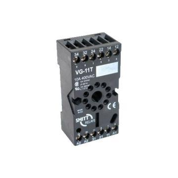 Mors Smitt relaisvoet G, (bxhxd) 38x75x26mm