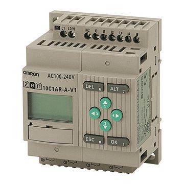 Omron logische module ZEN 10, 90x70x56mm, 24V, str st 5A, 2 an ing