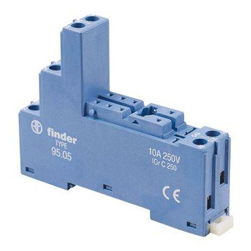 Finder relaisvoet 40, bl, (bxhxd) 15.8x60.9x78.6mm