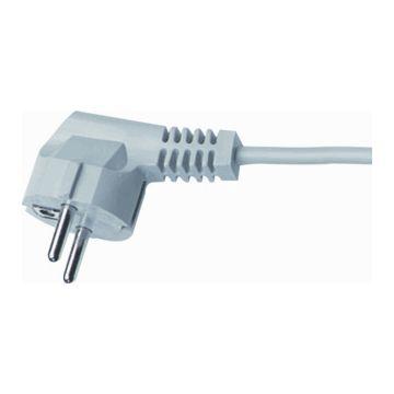 HK Electric aansluitleiding aansluiting kabel, le 3m, aansluiting 1 randaardestekker haaks