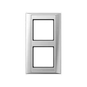 JUNG afdekraam A Plus kunststof, aluminium, (bxhxd) 93x160x10.4mm