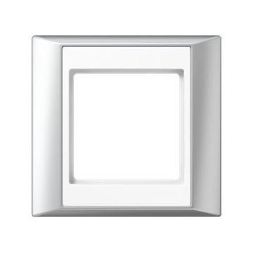 JUNG afdekraam A Plus kunststof, aluminium, (bxhxd) 93x89x10.4mm