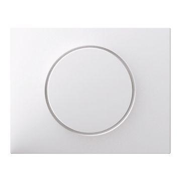 Hager berker K.1 bedieningselement/centraalplaat, wit drukknop