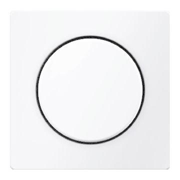 Hager berker Q.1 bedieningselement/centraalplaat, wit drukknop