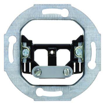 Hager berker bedieningselement/centraalplaat metaal, wit, uitvoering centraalplaat