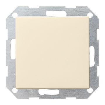Gira Systeem 55 1-voudig kunststof inbouw drukvlakschakelaar wissel schakelaar crèmewit (RAL1013)