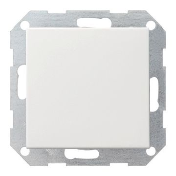 Gira System 55 installatieschakelaar kunststof, wit, schakelaar kr schakelaar
