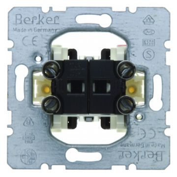 Hager berker installatieschakelaar schakelaar seriesch, wip/drukker, bas elm