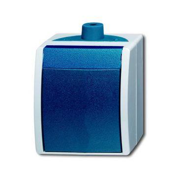 Busch-Jaeger Ocean IP44 wipschakelaar wissel, blauwgroen