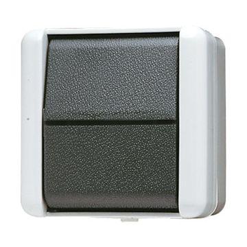 JUNG WG800 installatieschakelaar kunststof, grijs, schakelaar wiss schakelaar