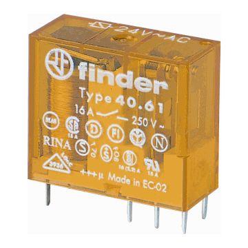 Finder schakelaarrelais 40, 12.4x25x29mm