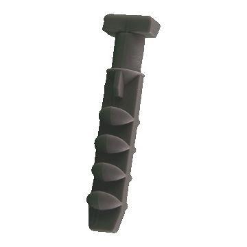 Mepac duimnagelplug, kunststof, grijs, boorgatdiameter 5mm