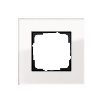 Gira Esprit enkelvoudig kunststof afdekraam, wit