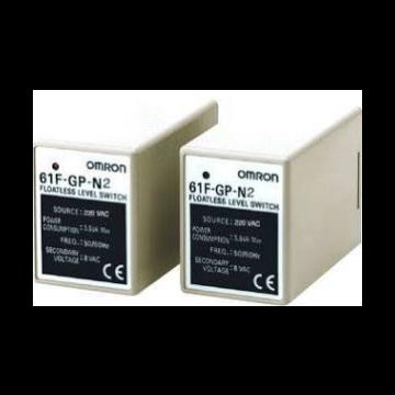 Omron 61F GP niveaubewakingsrelais, (bxhxd) 38x49.4x91mm uitvoering elektrische