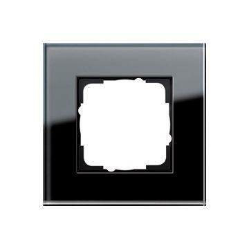 Gira Esprit enkelvoudig kunststof afdekraam, zwart